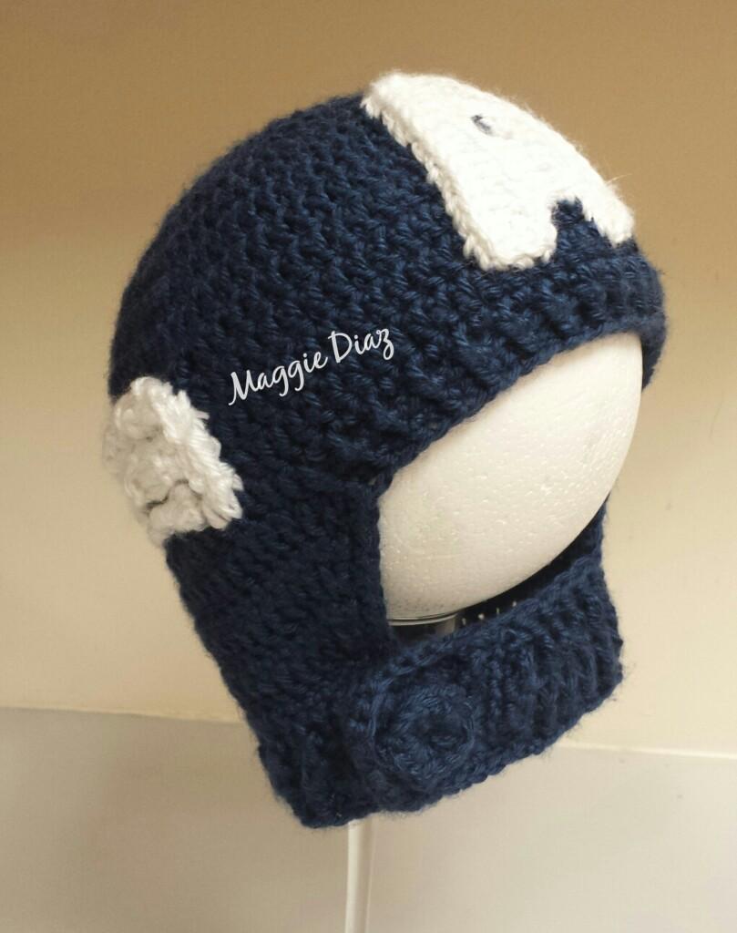 Captain America CrochetBeanie